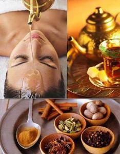 Olejová celotělová masáž (Abhyanga)